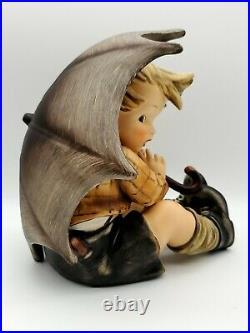 Hard To Find Large Size 8 Hummel Umbrella Boy #152 A Goebel Figurine Tm4