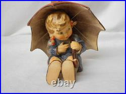 Hummel 152/0 B Umbrella Girl TMK-5 Figurine 1957 By Goebel Artist Signed