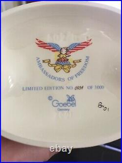 Hummel #802/II Brave Soldier Ambassadors of Freedom- #0934/3000-MINT