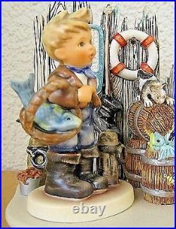 Hummel Catch Of The Day Hum 2031 Fisherman's Feast Collector's Set Goebel S239