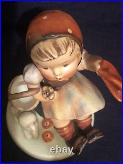 Hummel Collectible Figurine- Goebel W Germany- Farewell HUM 65, 5 1/2