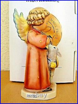 Hummel Figurine ANGEL SERENADE WITH LAMB HUM 83 TM7 Goebel 60th ANNI MIB B540