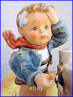 Hummel Figurine AN EMERGENCY HUM #436 TM8 Goebel Germany FIRST ISSUE NIB