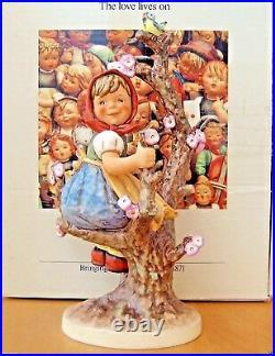 Hummel Figurine APPLE TREE GIRL HUM #141/V TMK6 10.25 Goebel $1600 MIB M611