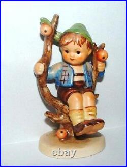 Hummel Figurine Apple Tree Boy Hum 142 3/0 Tmk 2