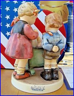 Hummel Figurine BLESSED EVENT HUM #333 TMK8 Goebel MILITARY EDITION SET NIB