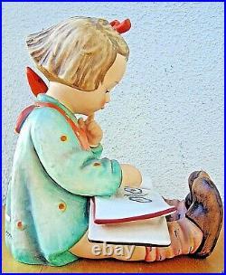 Hummel Figurine BOOK WORM HUM #3/II TM5 Goebel Germany 8.5 HIGH BV$1300 T439