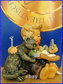 Hummel Figurine CAT'S MEOW HUM #2136 TM8 Goebel Germany BLACK CAT NIB A085