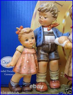 Hummel Figurine Farm Days Hum 2165 Tm8 Moments In Time Goebel Germany Nib
