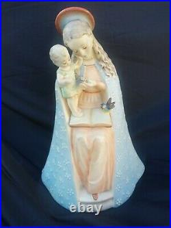 Hummel Figurine Flower Madonna #10/1 Western Germany excellent cond