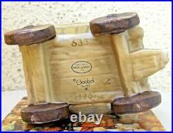 Hummel Figurine I'm Carefree Hum #633 Tm7 Rare Rear Signature Wagon Goebel Nib