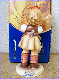 Hummel Figurine LOVING WISHES LOVE LETTERS COLLECTOR'S SET 573 Goebel MIB D159