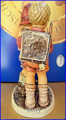 Hummel Figurine SCHOOL BOYS HUM #170/III TM8 Goebel Germany LE 10 NIB $3200