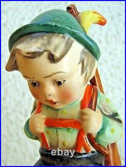Hummel Figurine SENSITIVE HUNTER HUM 6. TM1 DOUBLE CROWN Goebel MINT C288