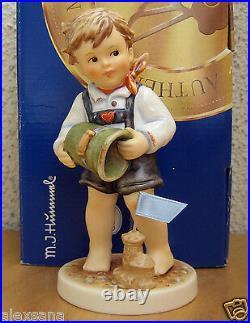 Hummel Figurine SUMMER CASTLES HUM #2275 TMK8 Goebel LIMITED EDITION NIB