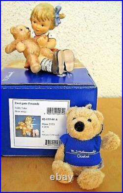 Hummel Figurine TEDDY TALES HUM #2155 TM8 Goebel Germany BEAR KEYCHAIN NIB