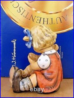 Hummel Figurine TEDDY TALES HUM #2155 TM8 Goebel Germany FIRST ISSUE NIB N936