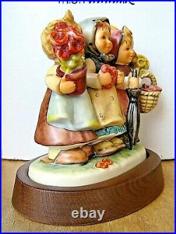 Hummel Figurine TRIO OF WISHES HUM 721 TMK7 Goebel Germany LE MIB B659