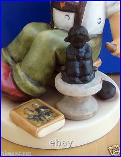 Hummel Figurine The Final Sculpt Hum #2180 Tm8 Signed By Skrobek Goebel Mib
