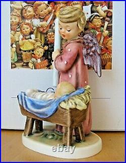 Hummel Figurine WATCHFUL ANGEL HUM 194 TMK7 Goebel Germany BABY GIFT MIB A956