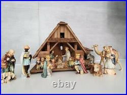 Hummel Goebel 16 piece Nativity Set 951 214 A 16 piece Set plus Manger