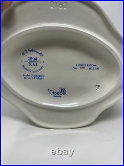 Hummel Goebel #2162 Baker's Delight 7 Figure #1005 MIB with COA