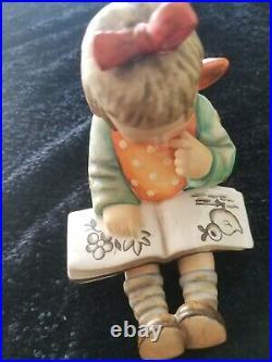 Hummel Goebel Book Worm Figurine HUM 3/I By Goebel TMK 5 1/2