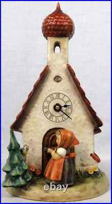 Hummel Goebel Chapel Time Clock #442 TM6 The Love Lives On 11 W. Germany