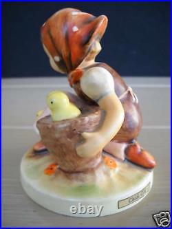 Hummel Goebel Chick Girl 57/0 W. Germany Figurine Immac