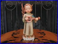 Hummel Goebel Festival Harmony Angel With Mandolin 172/0 8 Figurine 1947