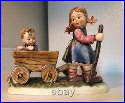 Hummel Goebel Figurine Pleasant Journey #406 Tmk 6 Century Collection