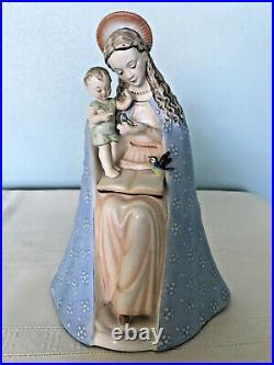 Hummel Goebel Figurines From Germany Madonna and Baby Jesus EUC