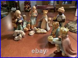 Hummel Goebel Nativity Figurine Set #214 0 (Small)