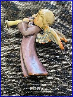 Hummel Goebel Nativity Flying Angel withflute figurine W. Germany