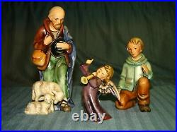 Hummel Goebel Nativity Set 13 Pcs with Wood Stable