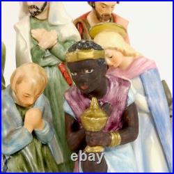 Hummel Goebel Nativity Set ten pieces made in West Germany 1972-1979