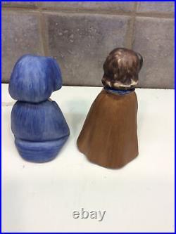 Hummel Goebel Robson-Baby Jesus-Mary And Shepherd Figurines #413A, B, C-1961