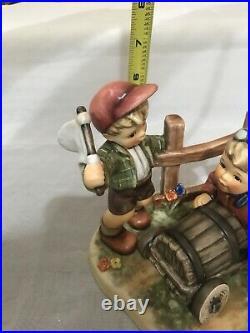 Hummel Goebel Soap Box Derby #2121 Germany Figurine