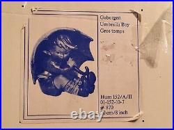 Hummel Goebel Umbrella Boy Large 8 152/A/II #870 Broken In Original Box