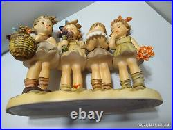 Hummel Goebel WE WISH YOU THE BEST Figurine CENTURY COLLECTION #600 withBox MINT