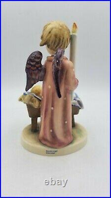 Hummel Goebel Watchful Angel Figurine with Box Hum 194, TMK 6