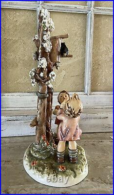 Hummel Goebel Welcome Spring Century Collection Hum 635 12 Signed