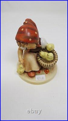 Hummel Goebel West Germany Chick Girl Figurines