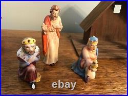 Hummel Goebel figurines nativity set 9 pc