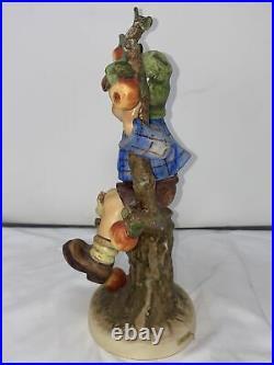 Hummel Large Apple Tree Boy 142/V Goebel W. Germany Goebel TMK 5