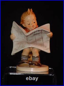 Hummel, Latest News Hum. #184, Washington Post, Very Rare Title, Mint In Box