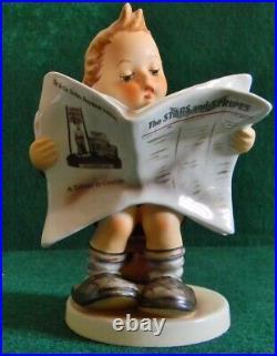 Hummel Latest News Stars and Stripes Berlin Freedom Ed #184TMK-7withCOA & Box