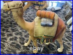 Hummel Nativity camel 8 figurine Goebel W. Germany 1972-79 XMAS Decor