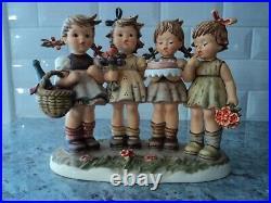 Hummel goebel we wish you the very best figurine