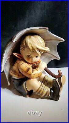 LARGE Goebel Hummel W. GERMANY Umbrella Boy Figurine 152/0 A 5